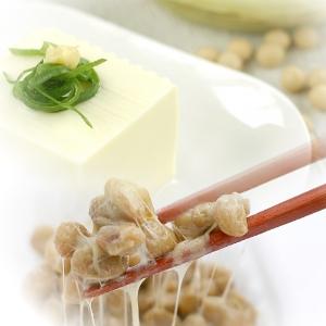 γ-GTP下げる大豆豆腐納豆